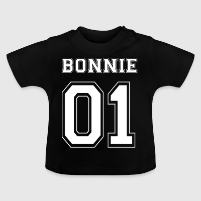 BONNIE 01 - White Edition - Baby-T-skjorte