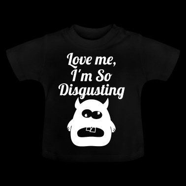 disgusting wite - Baby T-Shirt