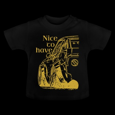 Nicetohave car collection Gold - Baby T-Shirt