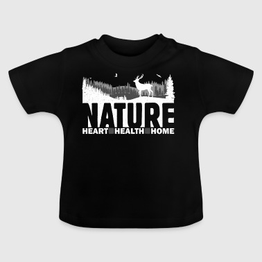 Nature Heart Health Home - Baby T-Shirt