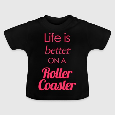 Rollercoaster - Baby T-Shirt