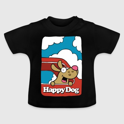 Happy_Dog - Baby T-Shirt