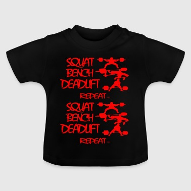 REPEAT Powerlifting - Baby T-shirt