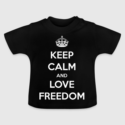 Freedom / Business / Freedom / Love - Baby T-Shirt