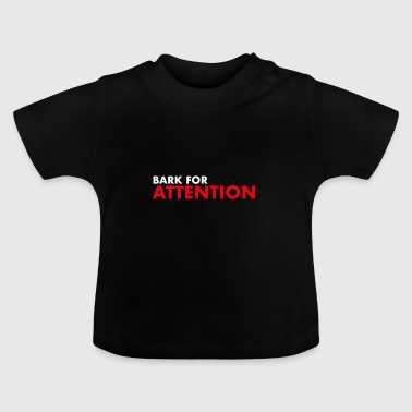 Bart voor Attention - Baby T-shirt