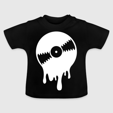 Melting Vinyl Record - Baby T-Shirt