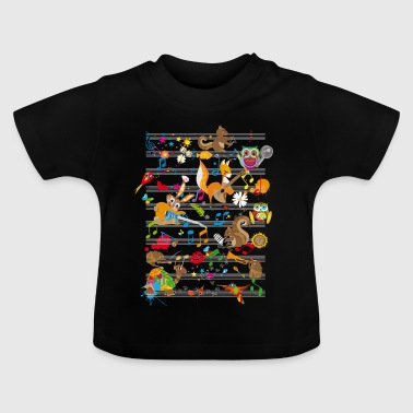 Concert of Animals - Baby T-Shirt