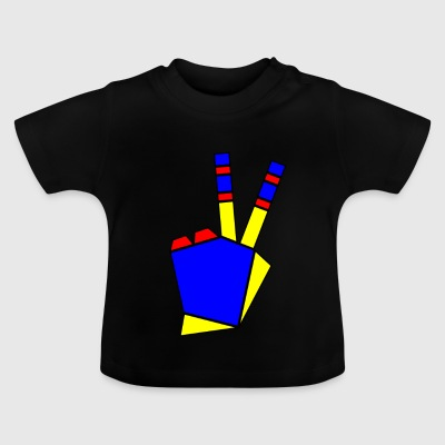 Peace Bunt - Baby T-Shirt