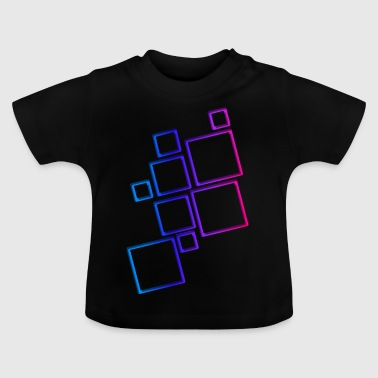 Squares - Baby T-Shirt