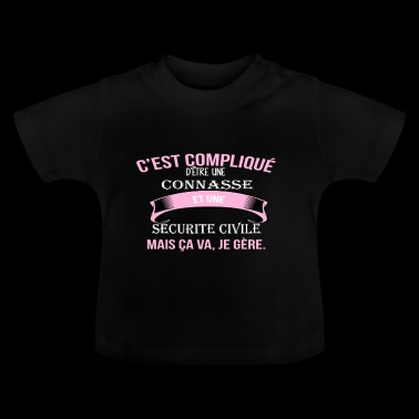 securite civile - T-shirt Bébé