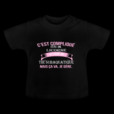 Tir subaquatique - T-shirt Bébé