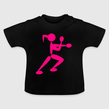 boxer boxing boxing kickboxing martial arts thai sp - Baby T-shirt
