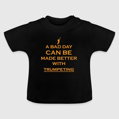 gift bad day better goalie stuermer goalkeeper f - Baby T-Shirt