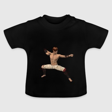 Fighter, asiatisk - Baby-T-shirt