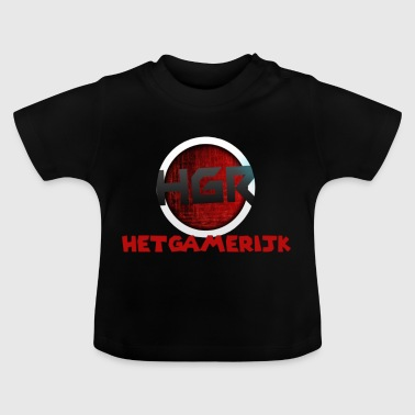 logo + text! - Baby-T-shirt