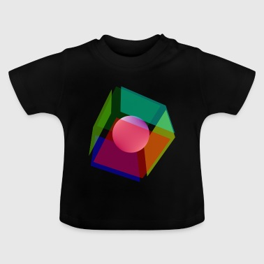 Cube & Sphere - Baby T-Shirt