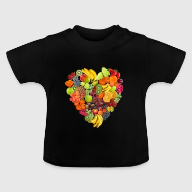 veggie Veggie mangue fruits4 - T-shirt Bébé
