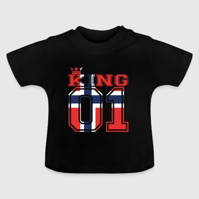 Country Partner kung prins Norge 01 - Baby-T-shirt