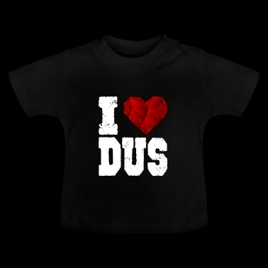 i love düsseldorf heart gift touristy love - Baby T-Shirt