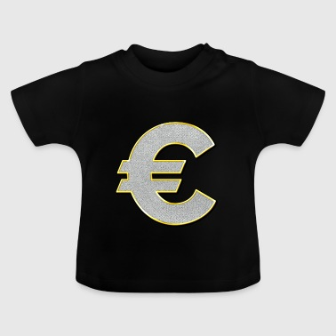 Euro sign Bling Bling - Baby T-Shirt