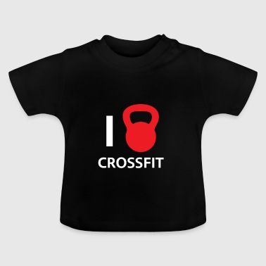 Fitness Crossfit trening dumbbell Gay gave - Baby-T-skjorte