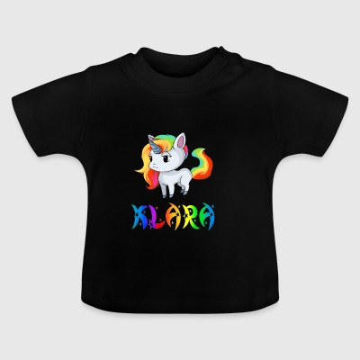 Clara unicorn - Baby T-Shirt