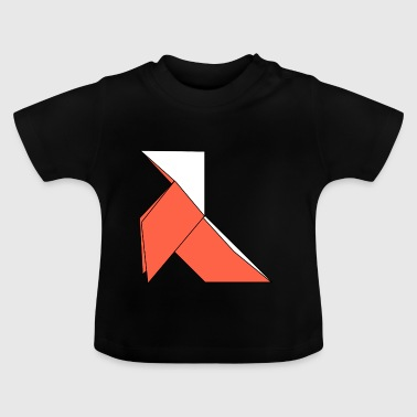 origami paper plane paper airplane1 - Baby T-Shirt