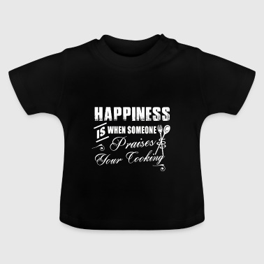 Cooking chef praise happiness gift - Baby T-Shirt