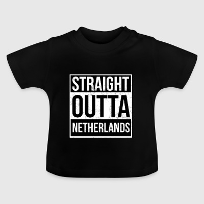 Straight Outta Holland - Baby T-shirt