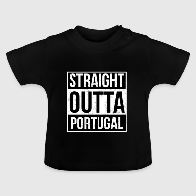 Straight Outta Portugal - Baby T-shirt