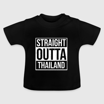 Straight Outta Thailand - Baby-T-shirt