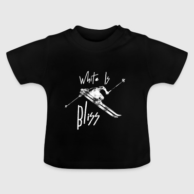 White Is Bliss - Baby T-Shirt