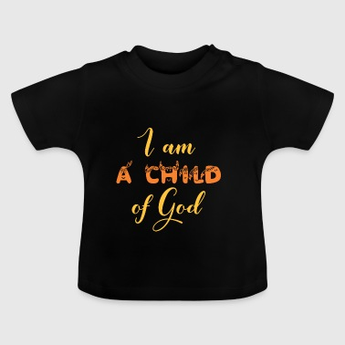 Guds kære barn Proud Cross Jesus Kirke Religion - Baby T-shirt