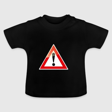 attention - T-shirt Bébé