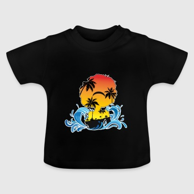 afro woman island - Baby T-Shirt