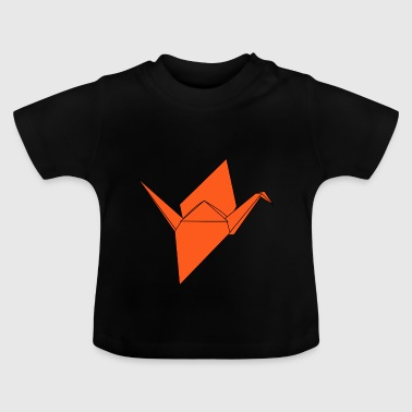 origami paper plane paper airplane33 - Baby T-Shirt
