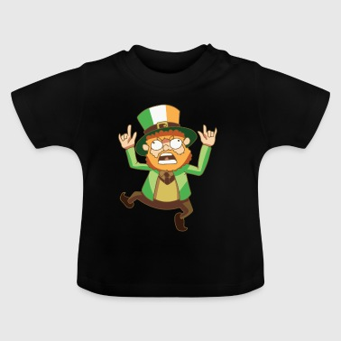 Kobold Kabouter fabel flag Ierland Gift - Baby T-shirt