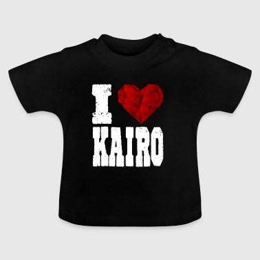 i love cairo heart gift tourist love travel - Baby T-Shirt