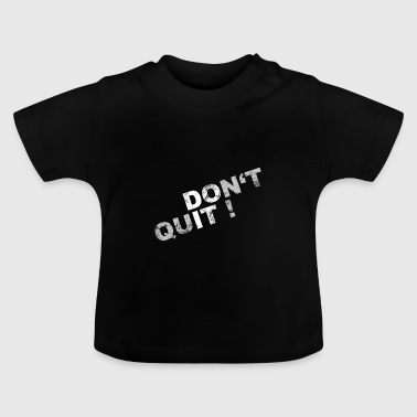 motivation - T-shirt Bébé