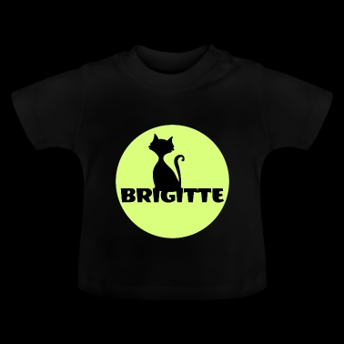 Brigitte First name name day gift - Baby T-Shirt