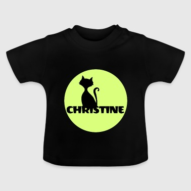 Christine Name First name - Baby T-Shirt