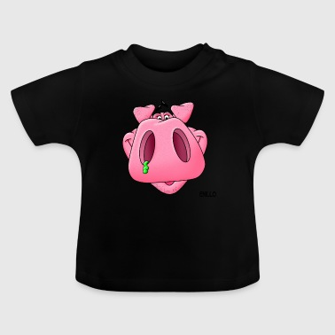 Enillo lucky pig - Baby T-Shirt
