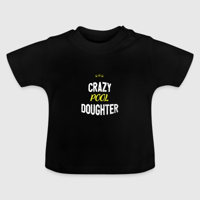 Distressed - CRAZYPOOL DAUGHTER - Baby T-Shirt