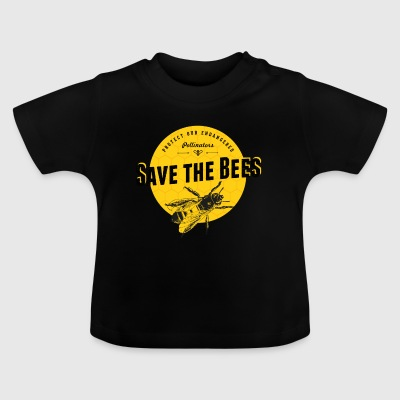 save the bees - Baby T-Shirt