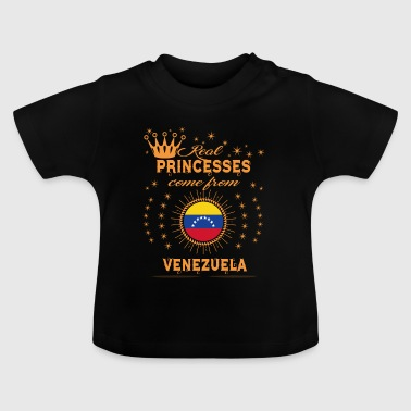 love princesses come from VENEZUELA - Baby T-Shirt