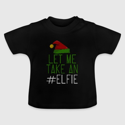 Let Me Take On Elfie stile Ugly - Maglietta per neonato