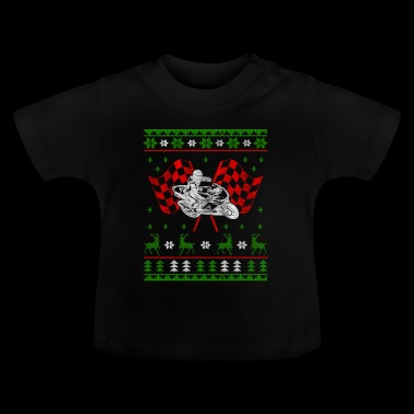 Motorcycle Superbike Ugly Kerstmis Jumper - Baby T-shirt