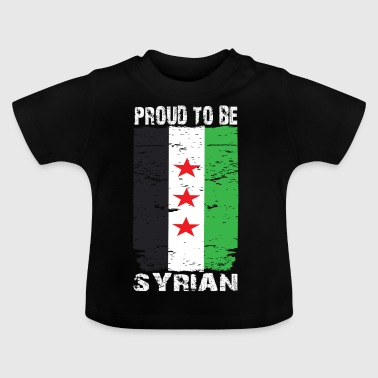 Proud syrian - Baby T-shirt