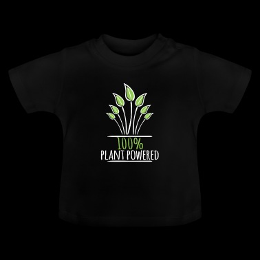 100 plant powered Gardening Cool - Baby T-Shirt