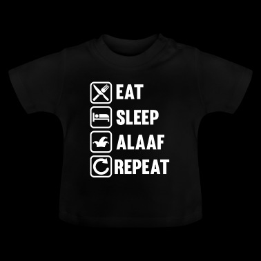 ALAAF - Eat Sleep Alaaf Repeat - Karneval Fasching - Baby T-Shirt